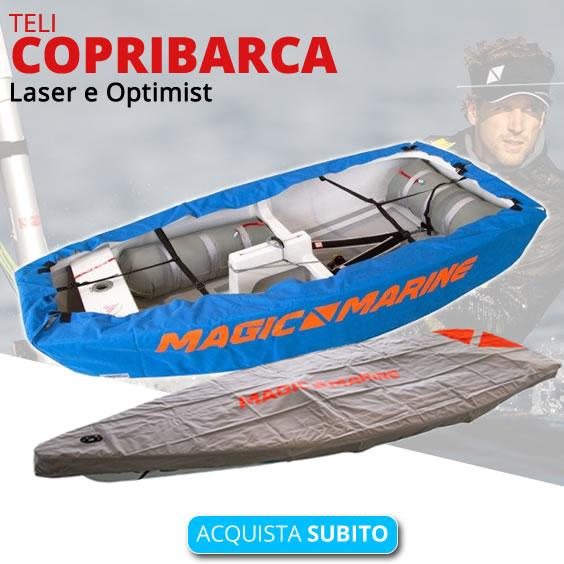 Teli copribarca Laser e Optimist
