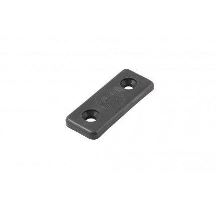 Allen-A0099W-Piastrina in Nylon per fissaggio cinghie laser bianca-21