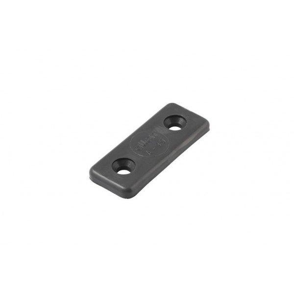 Allen-A0099G-Piastrina in Nylon per fissaggio cinghie laser grigia-31