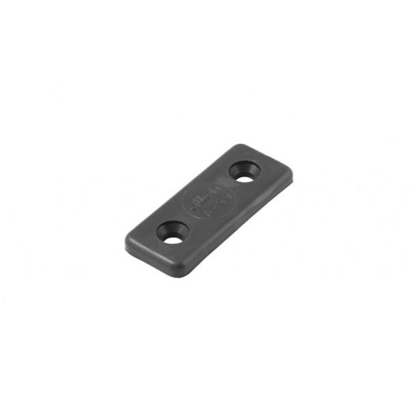 Allen-A0099W-Piastrina in Nylon per fissaggio cinghie laser bianca-31